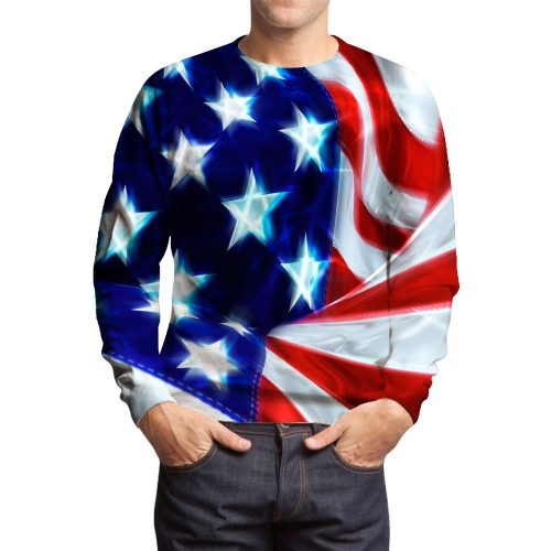 Usa-Flag Sweatshirts