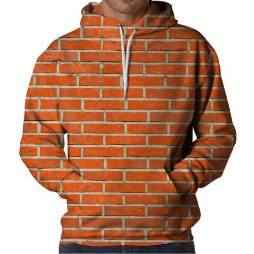 Brick Wall Hoodie Front