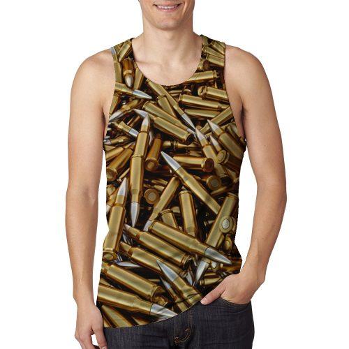 Man's Bullet Tanktop New