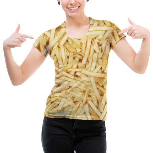 Woman Fries Tee New