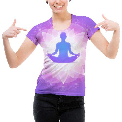 Woman Yoga Tee New
