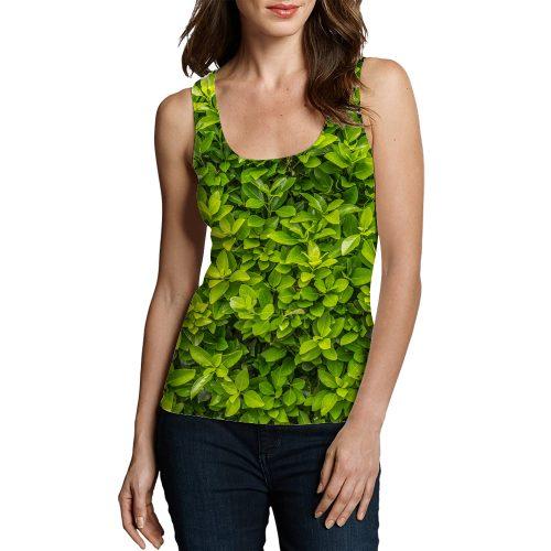 Woman Plants leaf Tanktop New