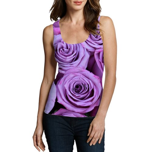 Woman Roses TankTop New