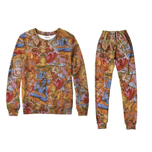 Indian Gods Sweater Set