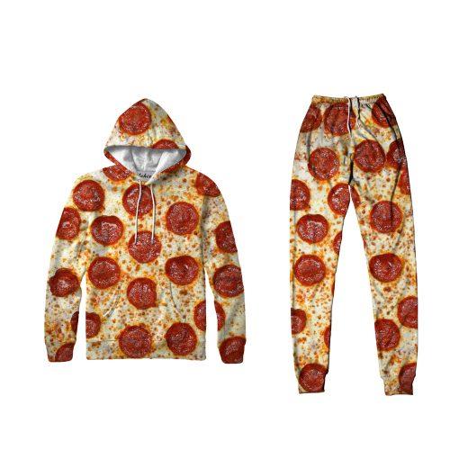 Pizza Hoodie Set