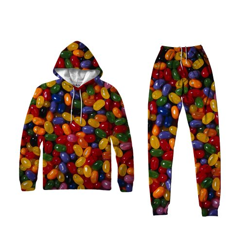 Small Jellybean Hoodie Set