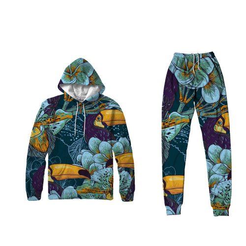Toucan Hoodie Set