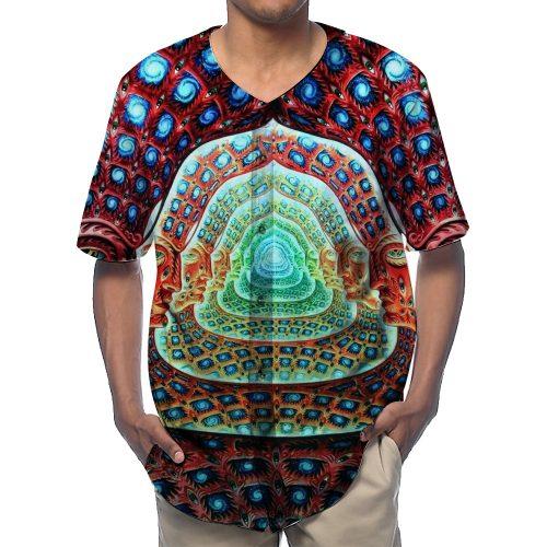 Trippy Face Baseball Shirts New