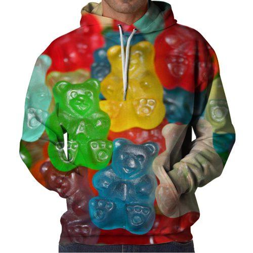 Gummy Bears Hoodie Front