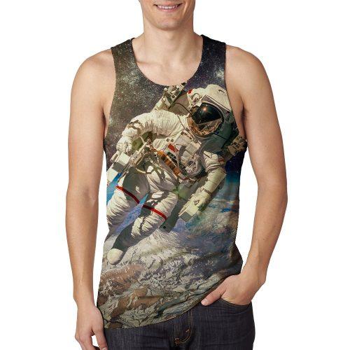 Man's Astronaut Tanktop New