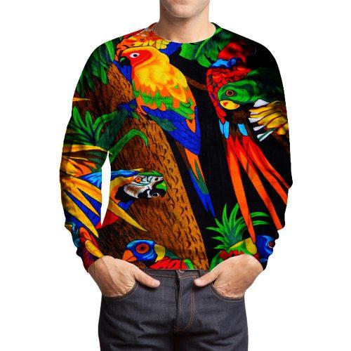 Parrot Color Sweatshirts