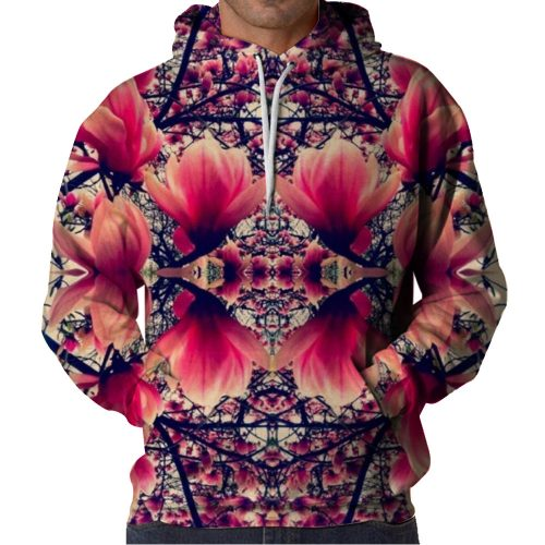 Symmetry Flower Hoodie Front